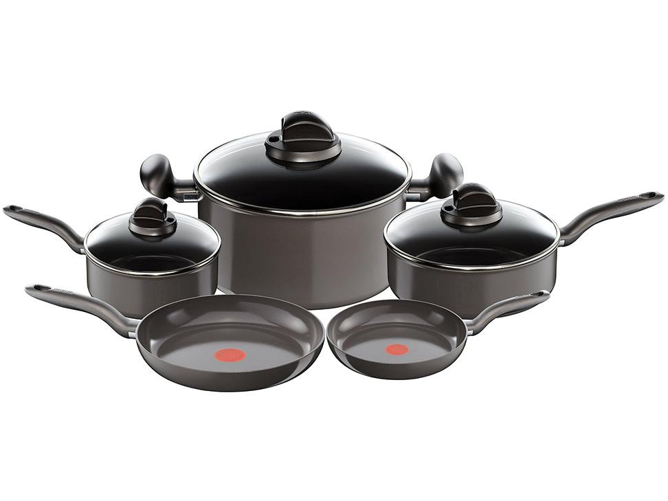 Bater a de cocina t fal caf ceramic inducci n liverpool - Baterias de cocina para induccion ...